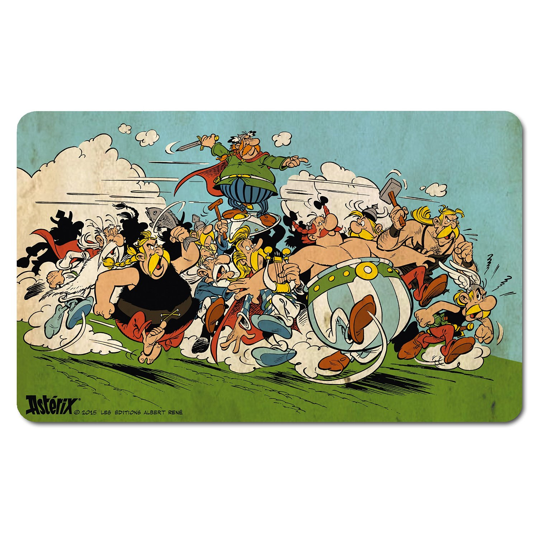 Asterix Obelix Attack Breakfast Cutting Board Formica Cartoon