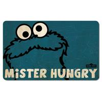 "Cookie Monster ""Mister Hungry"" Breakfast Cutting Board"