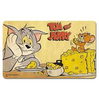 Tom & Jerry Eating Cheese Breakfast Cutting Board