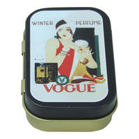 Vogue Winter Perfume Keepsake / Pill Tin