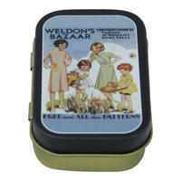Weldon's Bazaar Childrens Patterns Keepsake / Pill Tin
