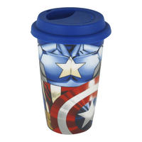 Captain America Torso Ceramic Travel Mug Thumbnail 1