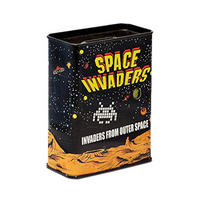 Distressed Space Invaders Money Box