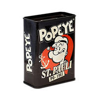 Distressed Popeye St Pauli Money Box