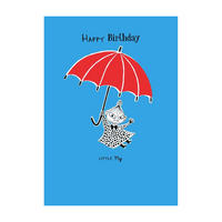 The Moomins Little My Happy Birthday Greeting Card