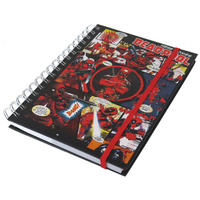 Here Comes Deadpool A5 Hardback Notebook