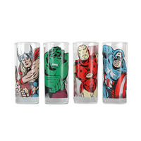 Marvel Avengers Set of 4 Glasses