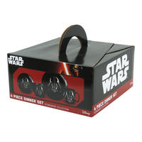 Star Wars Darth Vader 4 Piece Dinner Set Thumbnail 2