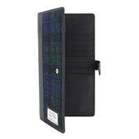 Travel Documents Holder with Harris Tweed Blackwatch Tartan