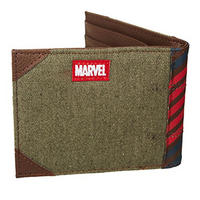 Captain America Vintage Army Canvas Wallet Thumbnail 3