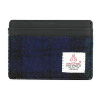 Harris Tweed Blackwatch Tartan Card Holder Thumbnail 1