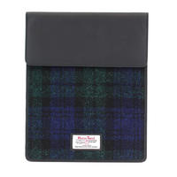 Harris Tweed Black Watch Tartan iPad Sleeve Thumbnail 1