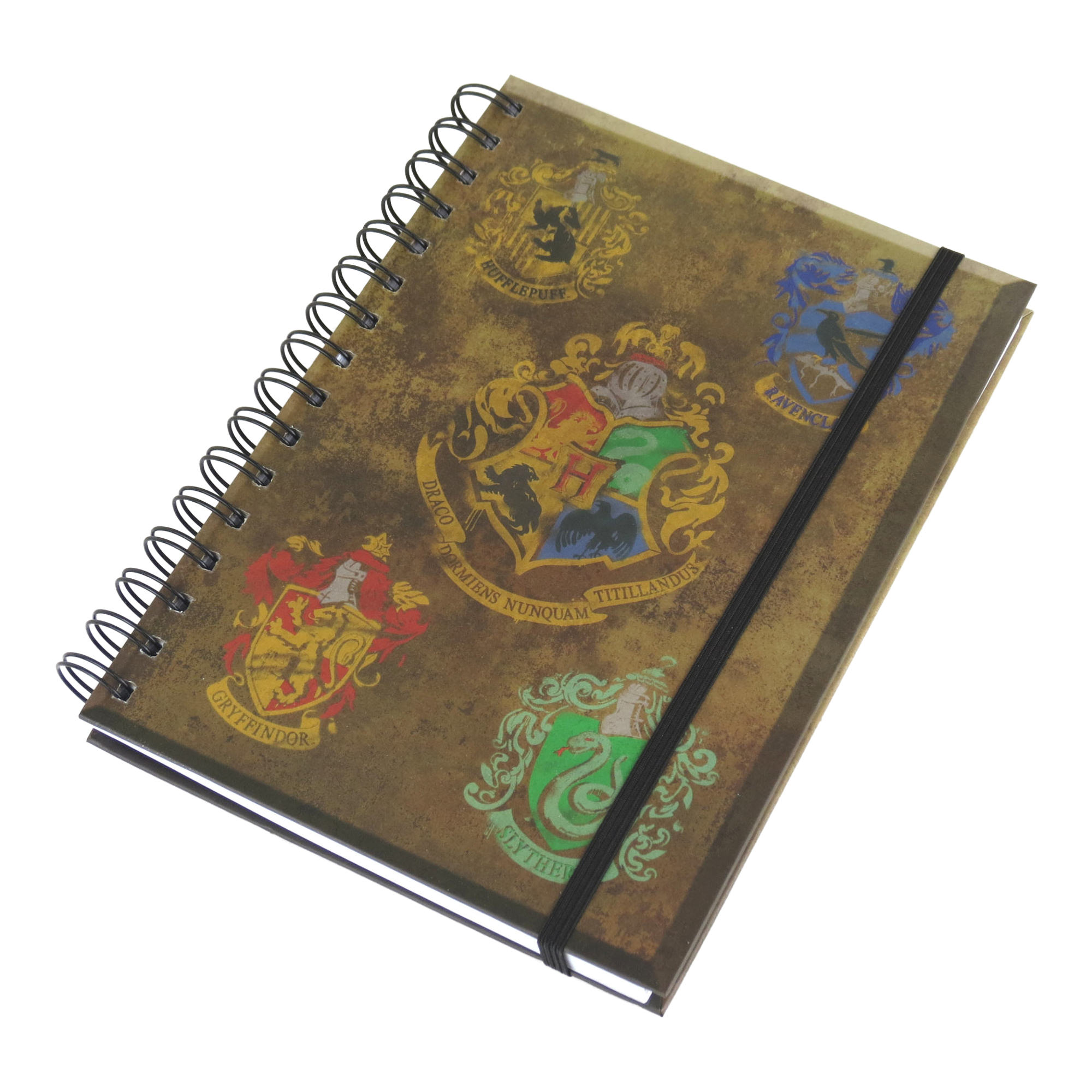 Harry Potter House Crests A5 Hardback Notebook