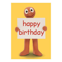 Morph Happy Birthday Greeting Card