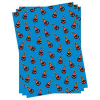3 Sheets of Pingu Gift Wrap