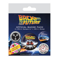 Back To The Future Badge Set