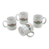 4 Pack - Friends Central Perk Mini Espresso Mugs