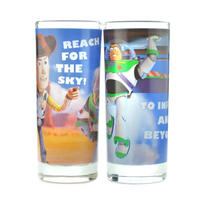 Toy Story Woody & Buzz Lightyear Set Of 2 Glasses Thumbnail 1