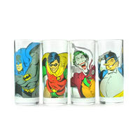 Batman Characters Set Of 4 Glasses Thumbnail 1