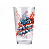 Captain America Large Glass Thumbnail 1