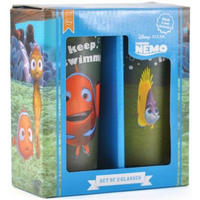 Finding Nemo Just Keep Swimming Set Of 2 Glasses Thumbnail 2