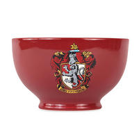 Set of 2 Ceramic Bowls - Harry Potter Gryffindor & Slytherin Crests Thumbnail 2