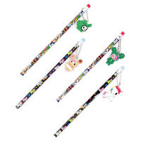 Set of 4 Tokidoki Pencils with Danglers