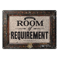 Harry Potter Room Of Requirement A5 Steel Sign Thumbnail 1