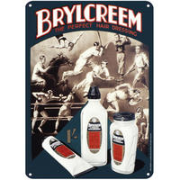 Brylcreem A5 Steel Sign