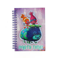Trolls A6 Party Time Softback Notebook