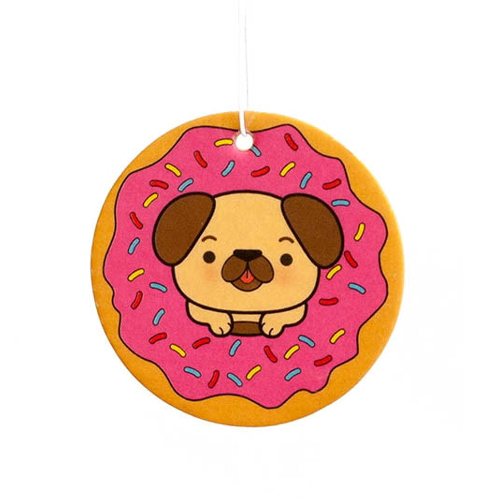 Doggy Doughnut Strawberry Scented Air Freshener