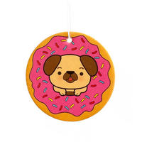 Doggy Doughnut Strawberry Scented Air Freshener Thumbnail 1