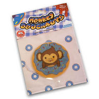 Monkey Doughnut Blueberry Scented Air Freshener Thumbnail 2