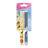Beauty and the Beast Pack of 2 Festival Wrist Bands Thumbnail 1