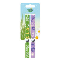 "Disney's Fairies ""I Do Believe"" Pack of 2 Festival Wrist Bands Thumbnail 1"