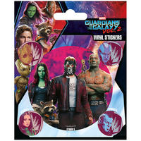 Guardians of the Galaxy Vol. 2 Mask Sheet of Vinyl Stickers Thumbnail 1