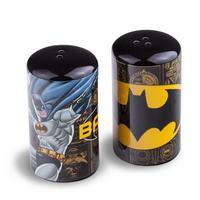 Batman Figure & Logo Salt & Pepper Pots Thumbnail 1