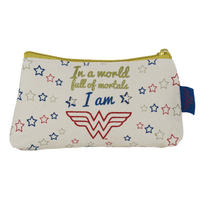 In A World Full Of Mortals I Am Wonder Woman Make-Up Bag