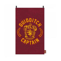 Harry Potter Gryffindor Quidditch Captain Cape Towel Thumbnail 1
