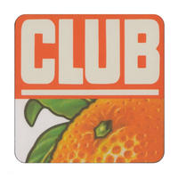 Jacob's Orange Club Biscuit Coaster