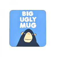 Jolly Awesome Big Ugly Mug Coaster