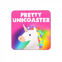 Jolly Awesome Pretty Unicoaster Unicorn Coaster