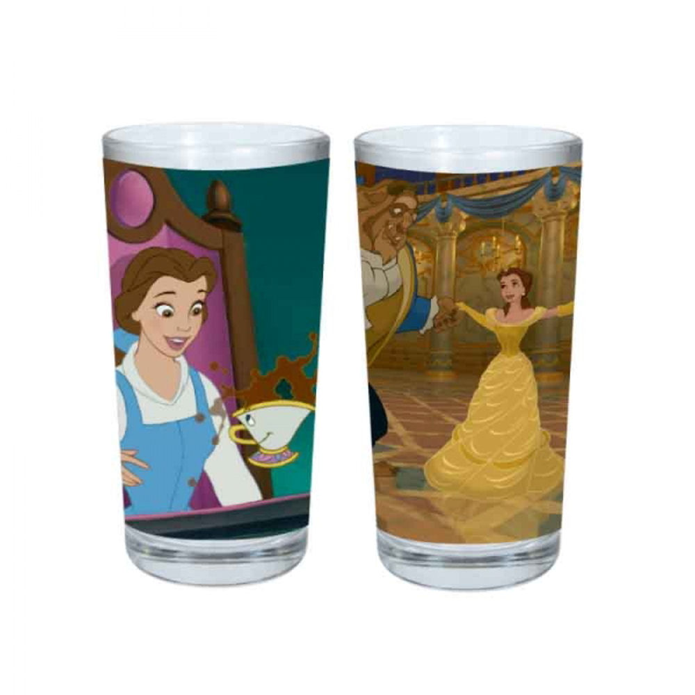 Beauty & The Beast Be Our Guest Set Of 2 Glasses