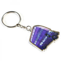 Harry Potter Knight Bus Metal Keyring Thumbnail 1