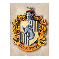 Harry Potter Hufflepuff Crest Fridge Magnet