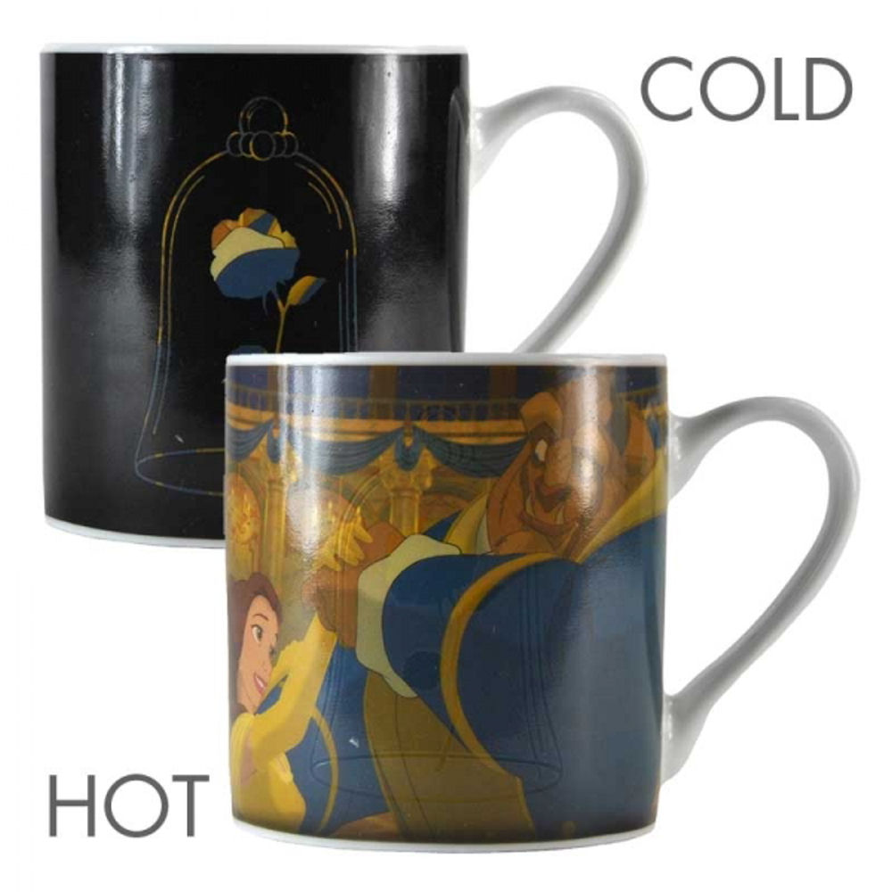Beauty & The Beast Rose Heat Change Mug