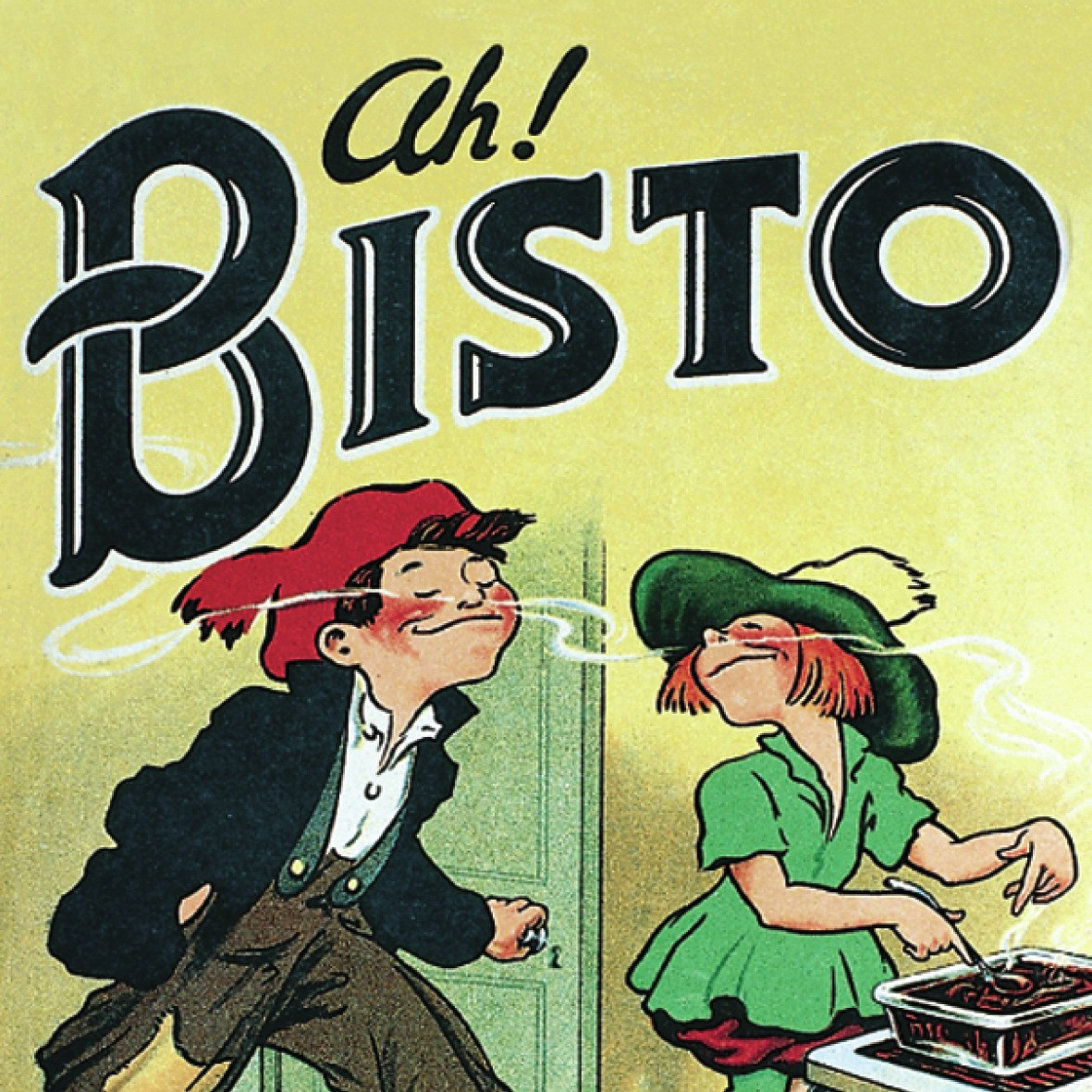 """Ah! Bisto"" Single Coaster"