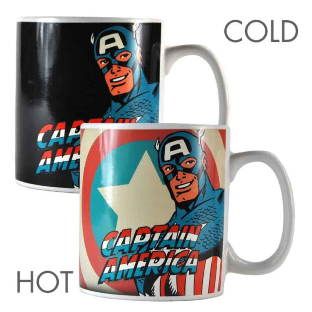 Captain America Heat Change Mug