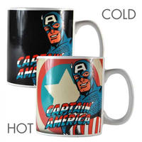 Captain America Heat Change Mug Thumbnail 1