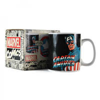 Captain America Heat Change Mug Thumbnail 6